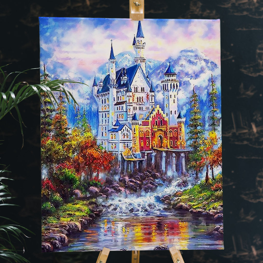 Fairytale Castle - Pictură pe numere