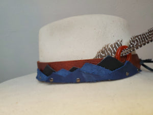 Blueridge Mountains Hatband