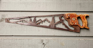 Mountain Range Saw