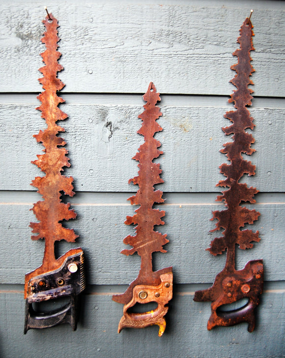 Tree Saw Decor