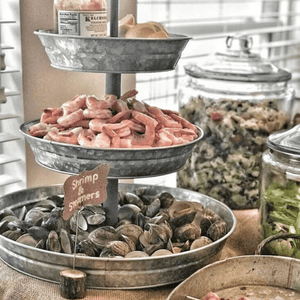 Making an Amazing Seafood Platter with Your 3 -Tiered Tray