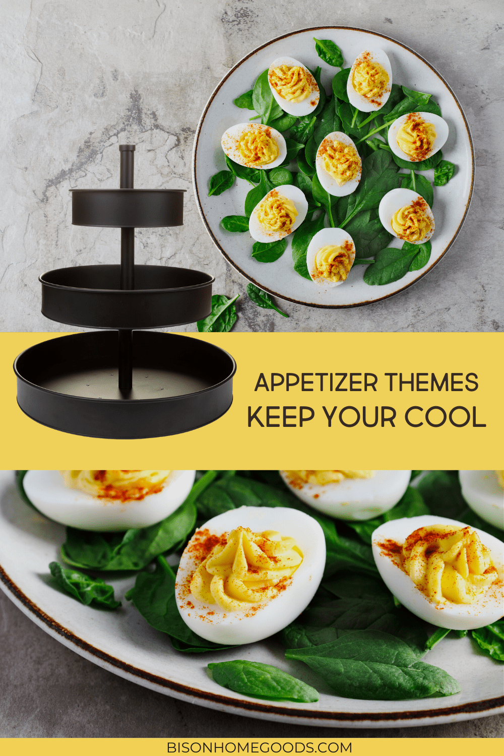 4 Appetizer Themes for Your Galvanized 3-Tier Tray - Keep Your Cool