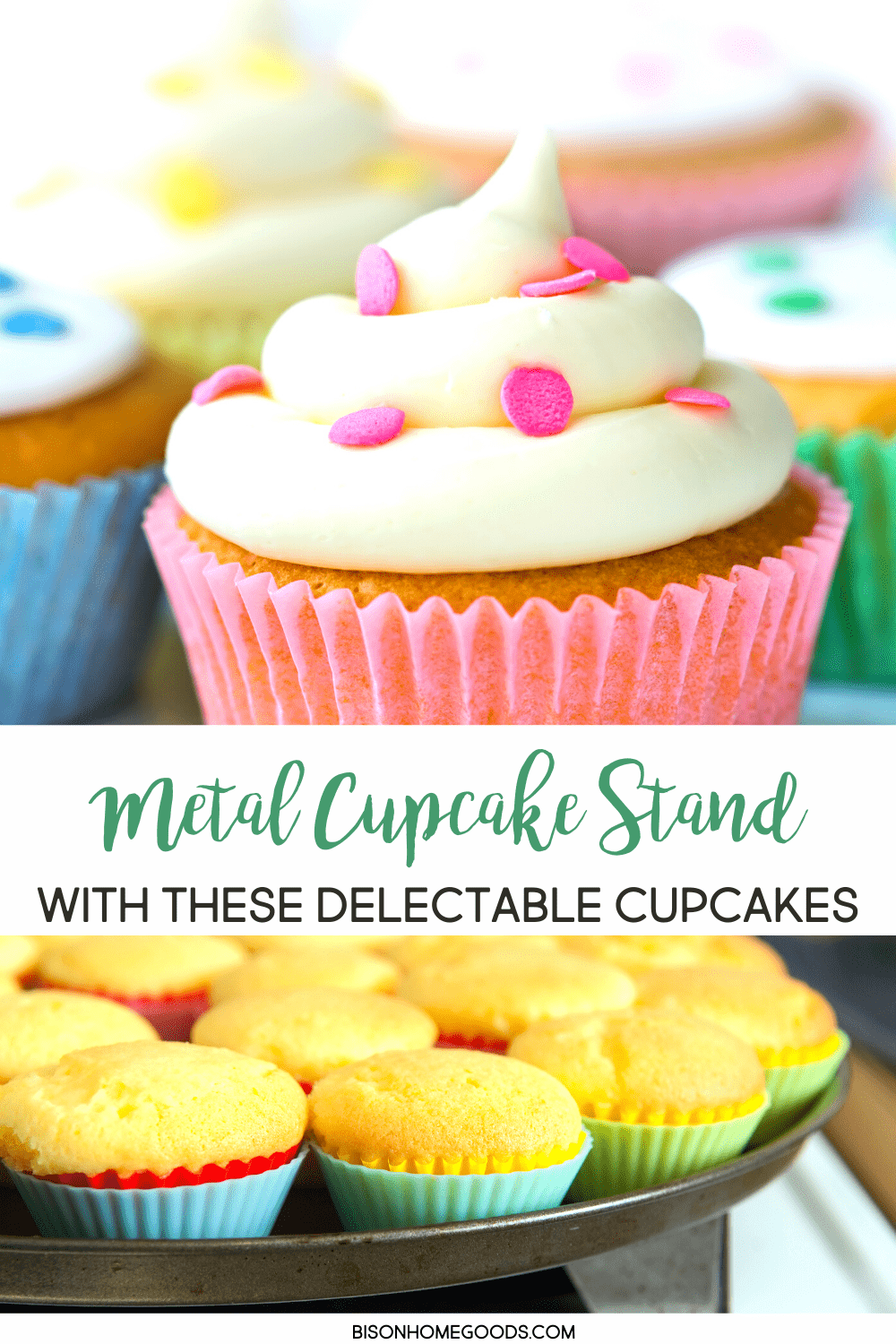 Fill Your Metal Cupcake Stand with These Delectable Cupcakes