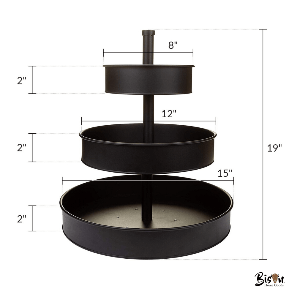 How to Choose the Best 3-Tier Serving Tray for You