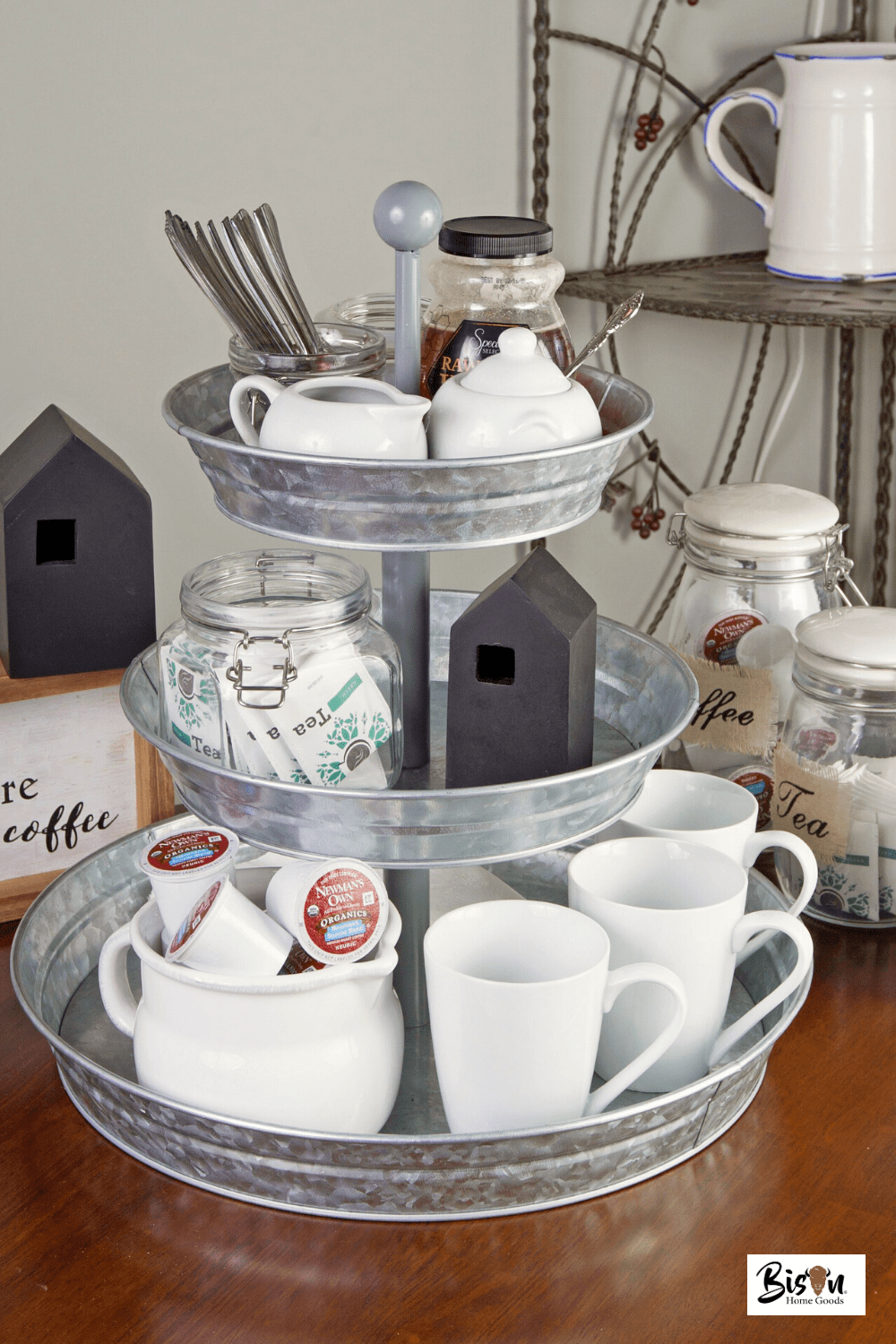 How to Outfit the Perfect Coffee Bar Tray