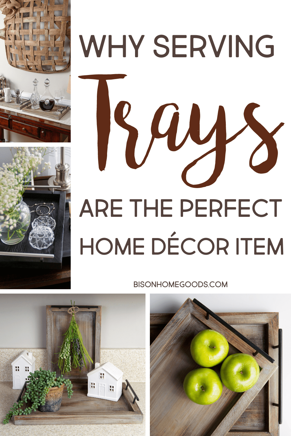 Why Serving Trays Are the Perfect Home Décor Item