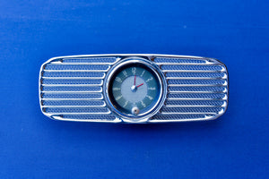 VDO Clock and Grill for OVAL Dash/Used