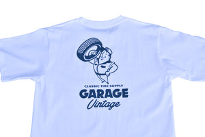 "GARAGE VINTAGE オリジナルTシャツ""Classic Tire Supply"""
