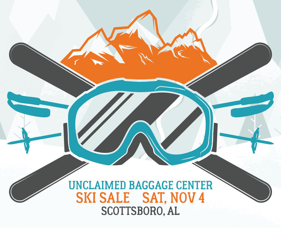 Unclaimed Baggage Ski Sale 2017