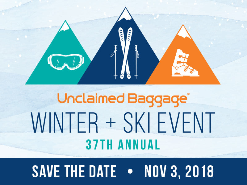 Unclaimed Baggage Winter and Ski Sale 2018