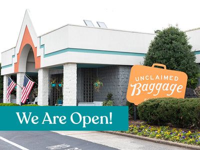 UNCLAIMED BAGGAGE IS RE-OPEN FOR BUSINESS!