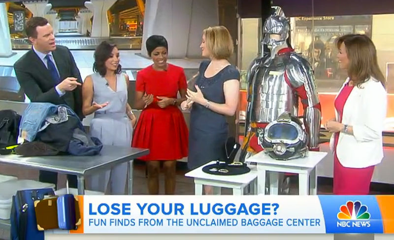 Unclaimed Baggage on the Today Show
