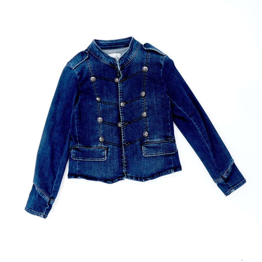 Button Down Jean Jacket Size S