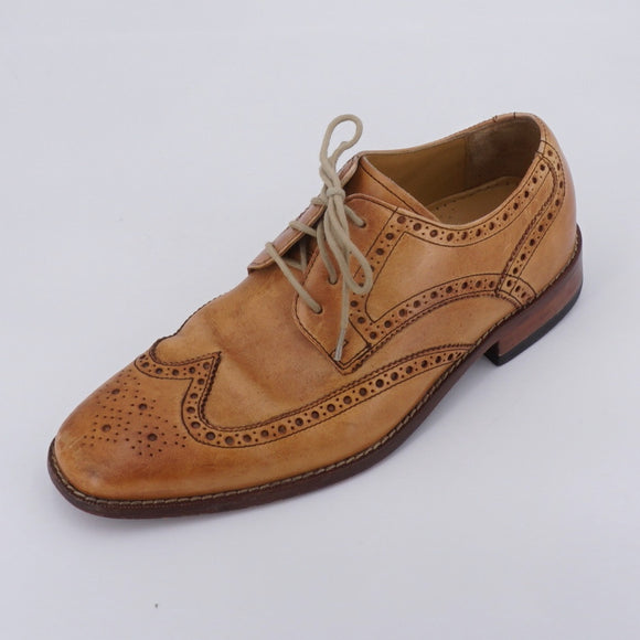 Brown Leather Dress Shoe Size 8