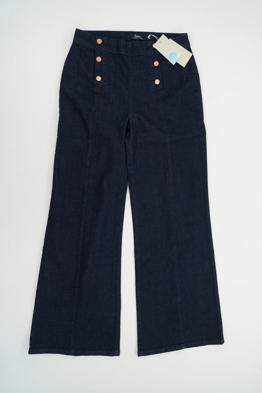 Sailor Dark Washed Denim Jeans Size 8