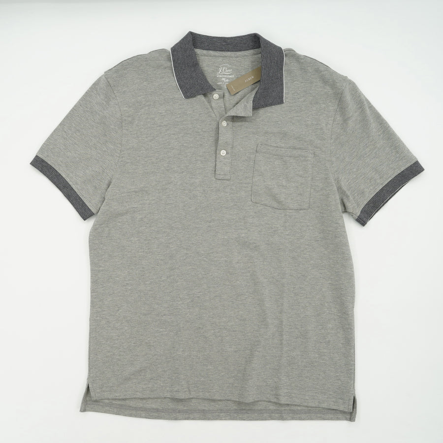 Stretch Pique Pocket Polo Size L