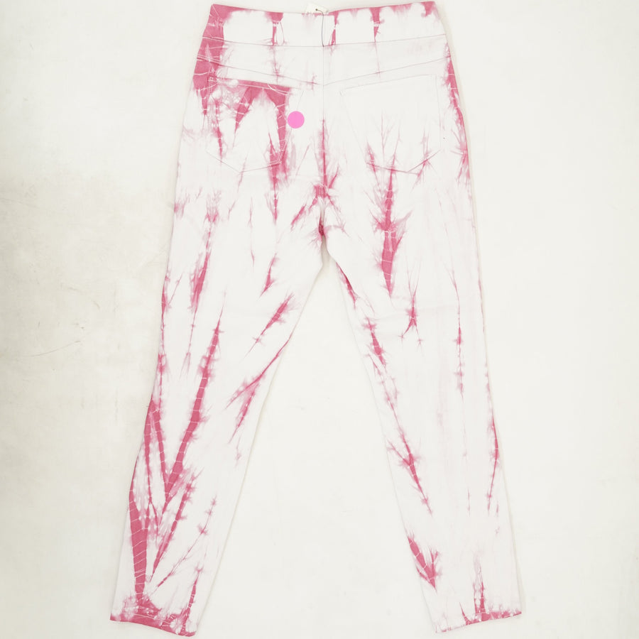 Pink/White Ankle Jegging Size 6