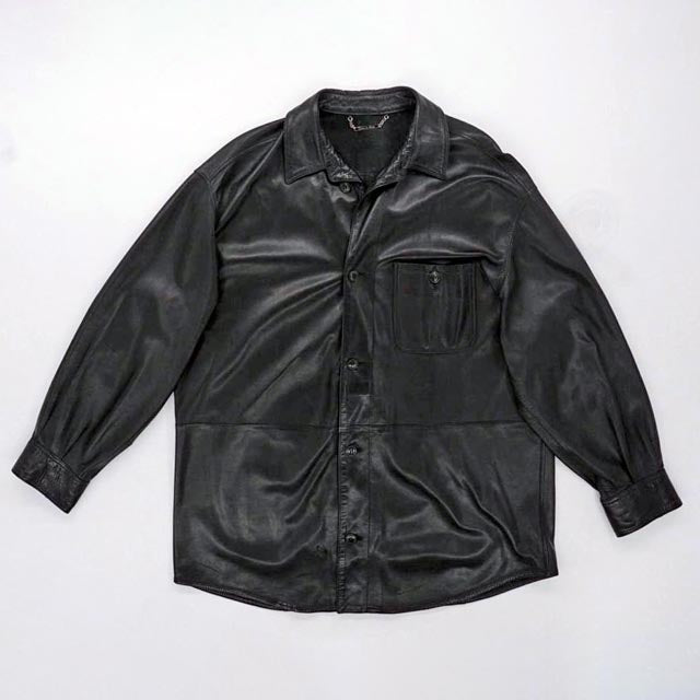 Leather Jacket Size 52R