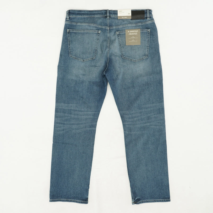 Avery Modern-Straight Blue Jeans