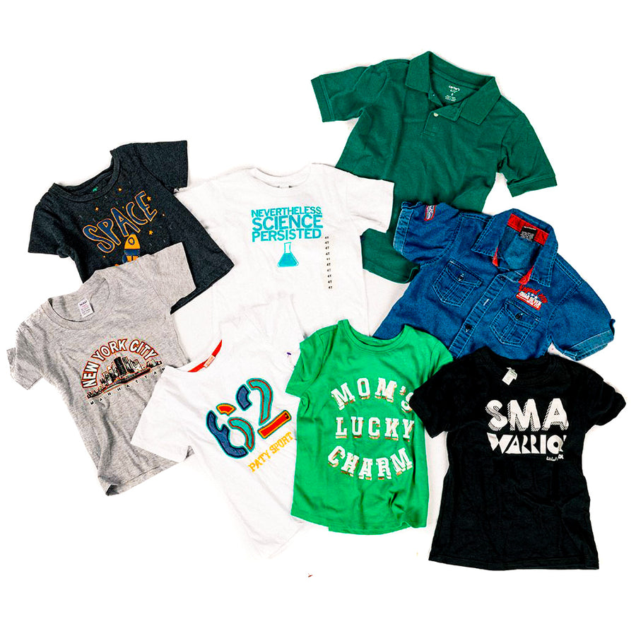 Boys' Summer Clothing Mystery Bag (8 per Bag)
