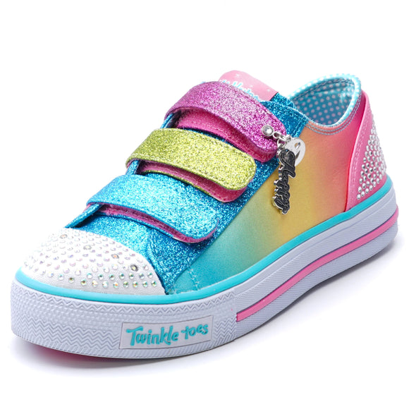 Shuffles Stylin' Smiles Light Up Sneaker Size 3
