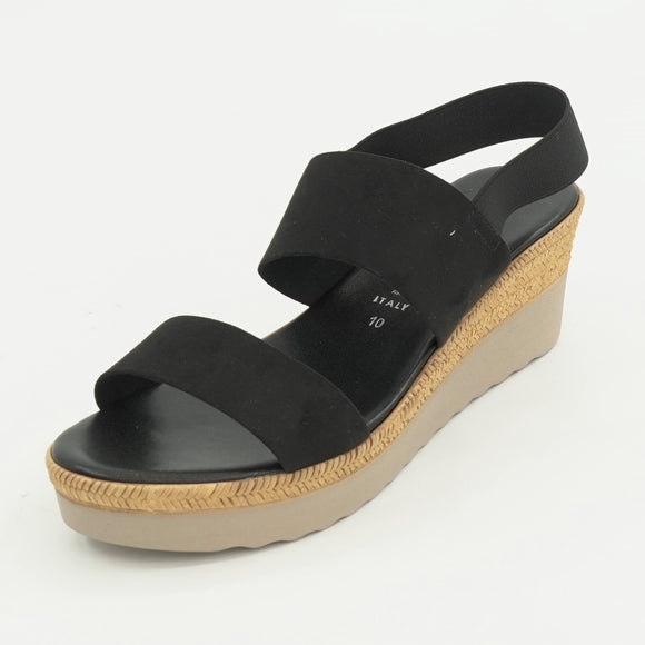 Alisha-Black Sandals
