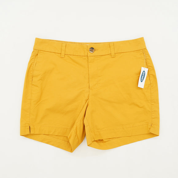 Yellow Everyday Shorts Size 6