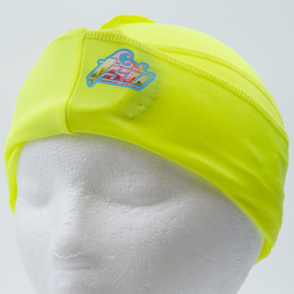 All Purpose Stringless Durag Neon Yellow