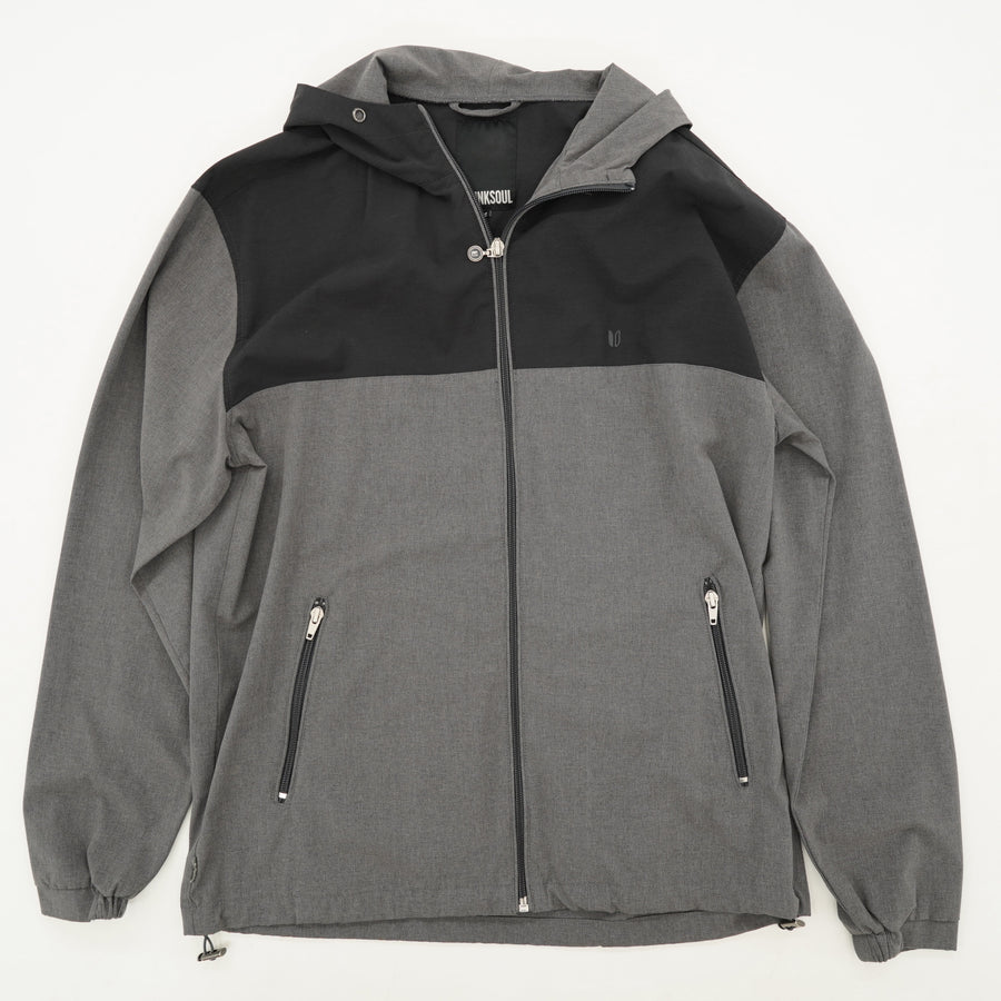 Hooded Full zip Jacket Size