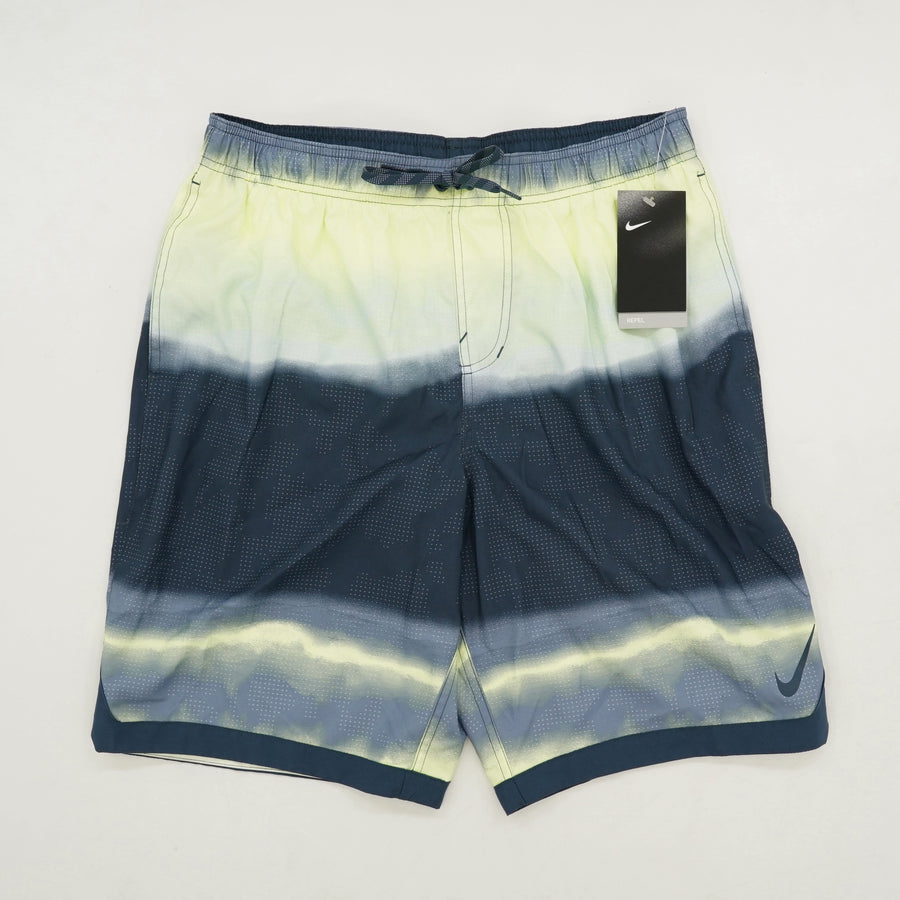 Green & Gray Swim Trunks