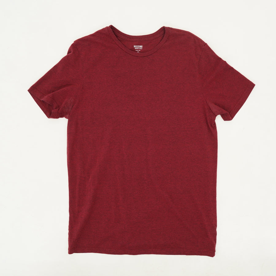 Basic Red Heather Tee - Size L