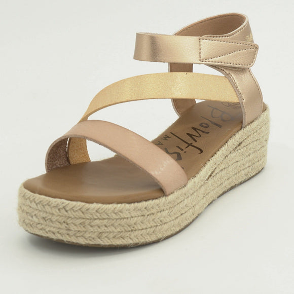 Lover Rope-Blush Sandals