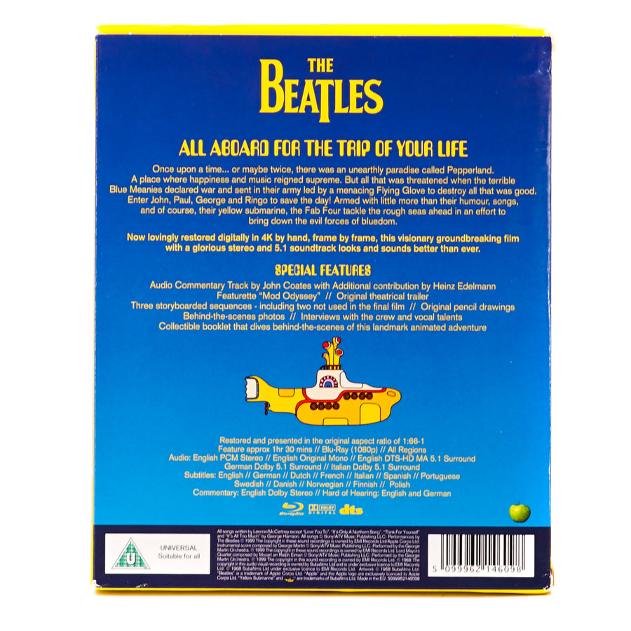 "The Beatles ""Yellow Submarine"" Blu-Ray"