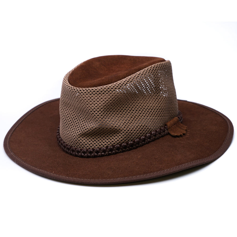 Leather Breeze Hat