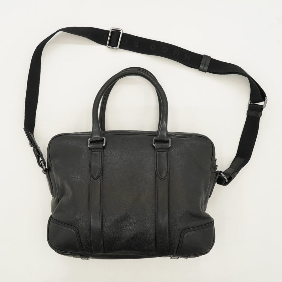 Morval Leather Messenger Bag