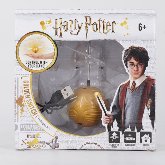 Harry Potter Golden Snitch Helicopter Ball
