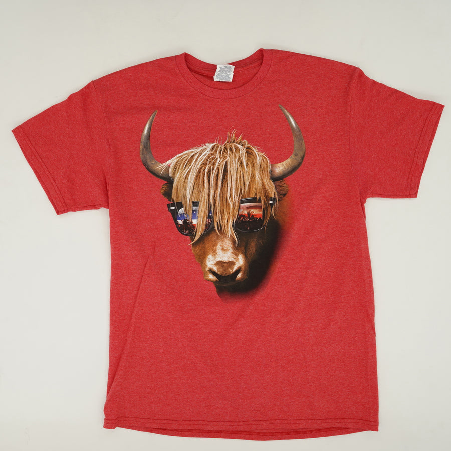 Bull Sunglasses Graphic Tee