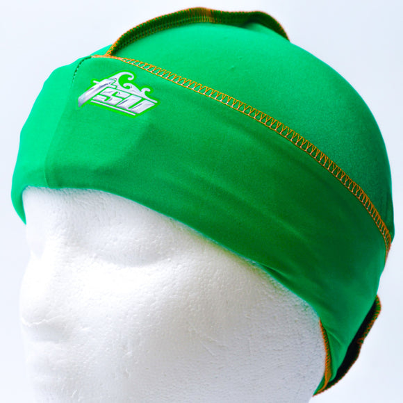 All Purpose Stringless Durag Green