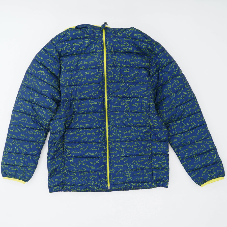 Shark Print Waterproof Jacket - Size XXL