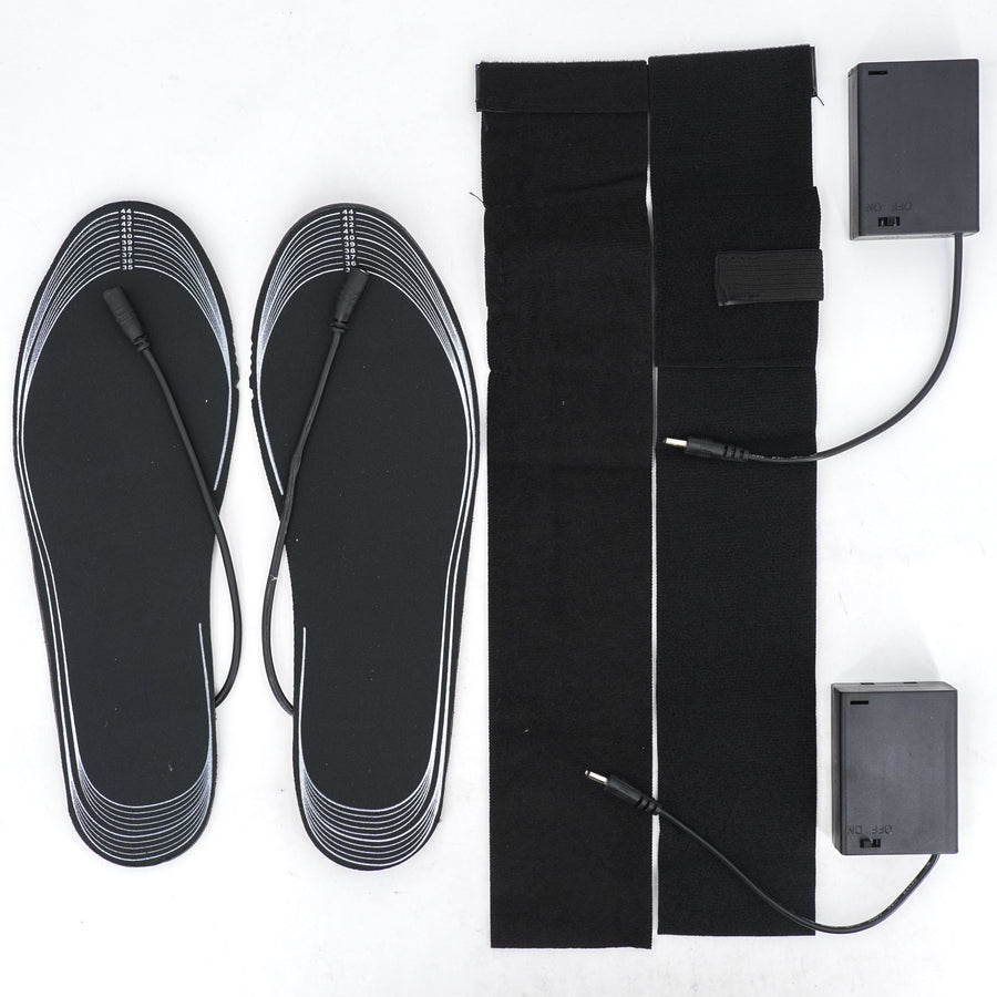 Heated Insoles with Battery Pack - Size M