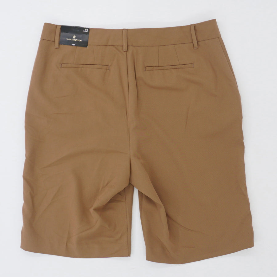 Brown Chino Shorts Size 14