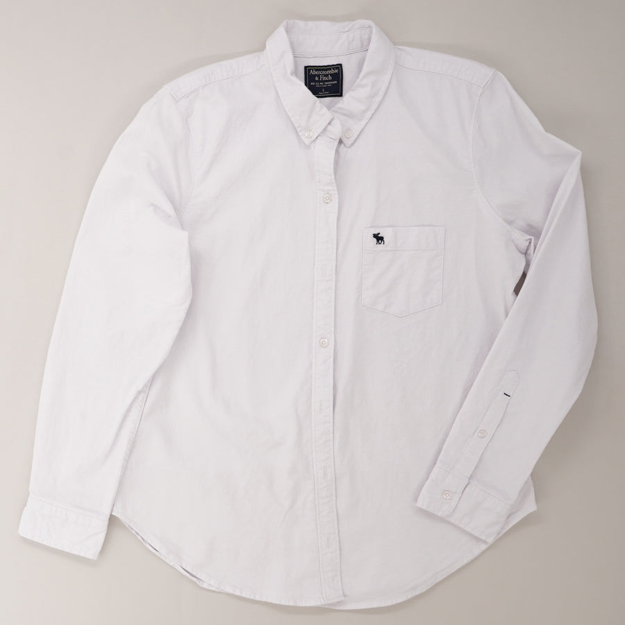 Long Sleeve Collared Button Down
