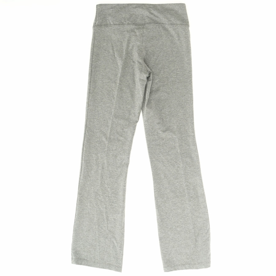 Gray Solid Yoga Pants - Size S