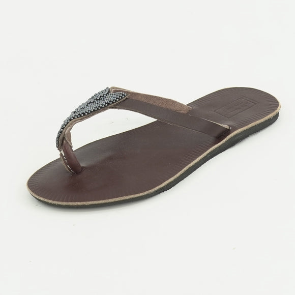 Compass-Slate Sandals