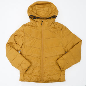 Mustard Colored Puffer Jacket - Size S