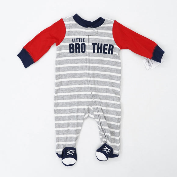 """Little Brother"" 2 Way Zipper Sleeper Size 3M"