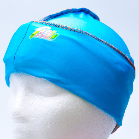 All Purpose Stringless Durag Blue