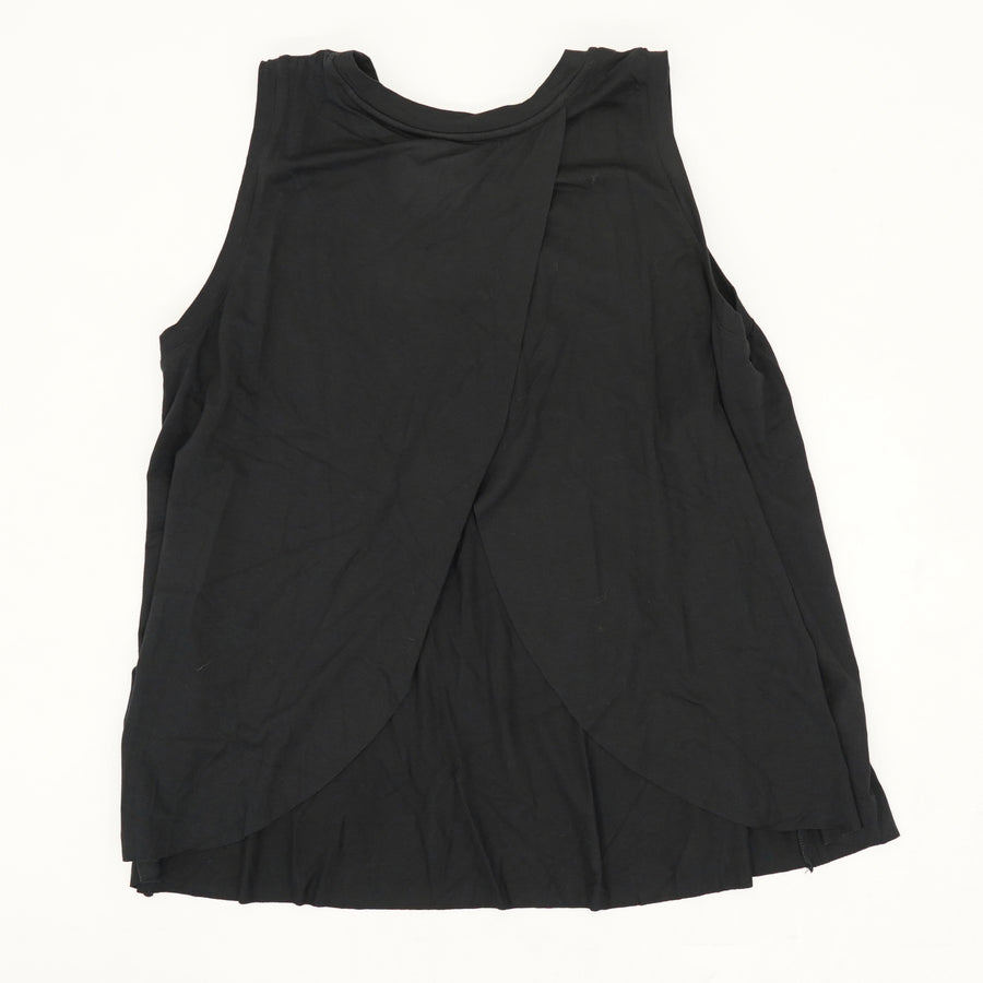 Long Tank in Black - Size L