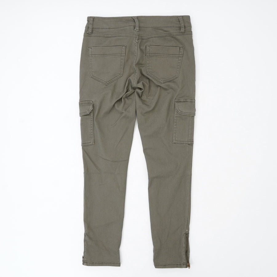 Jimmy Cargo Ankle Skinny Zip Pants - Size 0