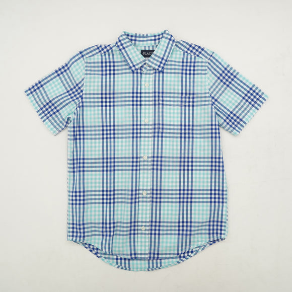 Gingham Print Button Down Size 14